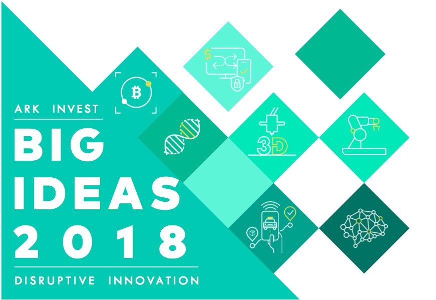 Big Ideas 2018 | ARK's Selection of Big Innovation Ideas